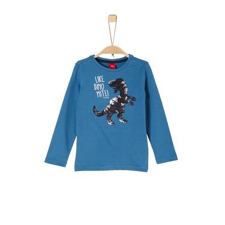 finest selection efa7b d84e7 s.Oliver Boys Langarmshirt blau