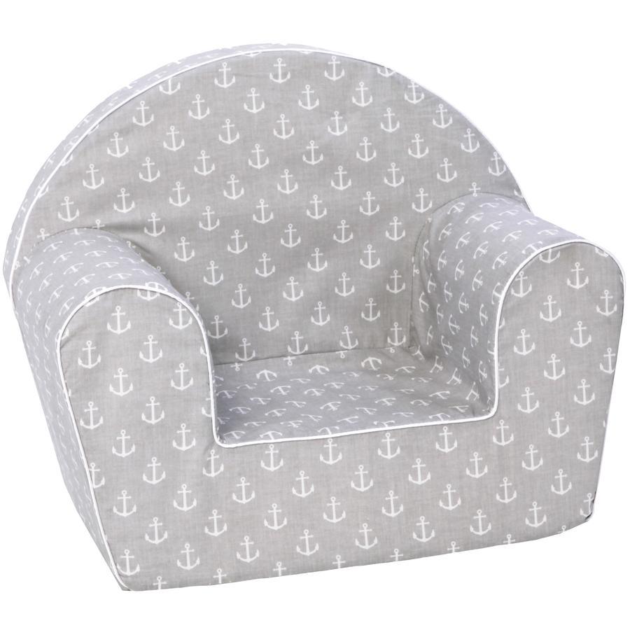knorr® toys dětské křeslo - Maritim grey