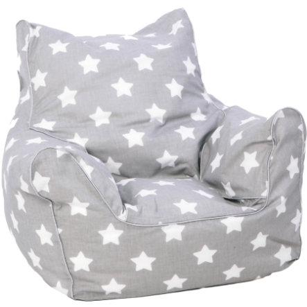 knorr® toys dětský sedací pytel - Stars white