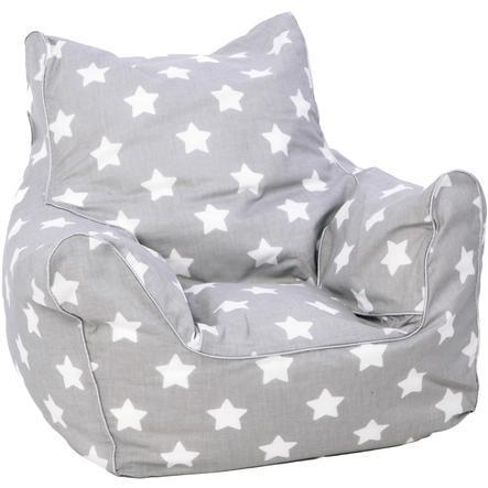 knorr® toys Kindersitzsack, stars white