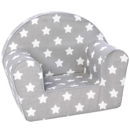 knorr® toys dětské křeslo - Stars white