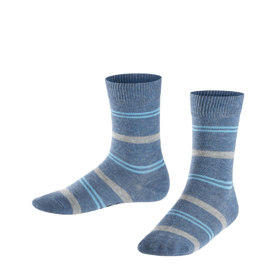 FALKE Socke Pencil Stripe light denim