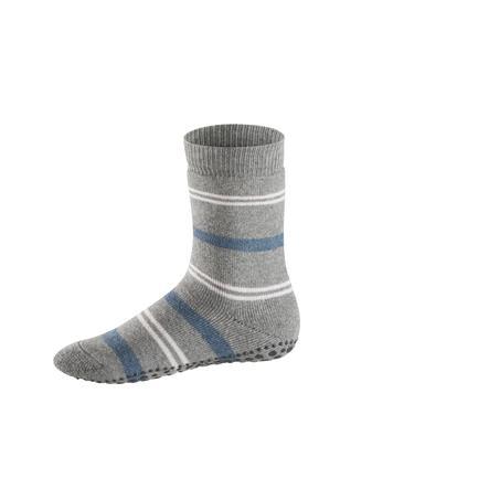 FALKE Socke Pencil Stripe light grey