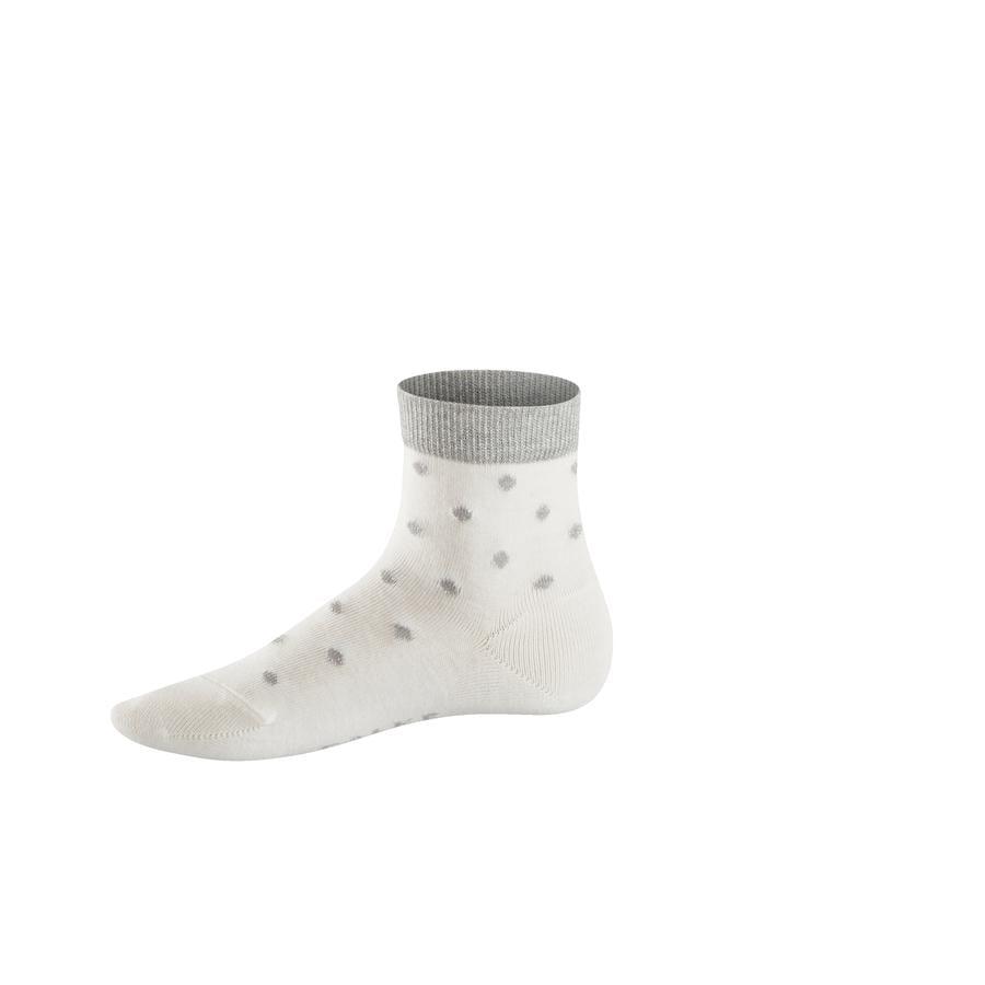 FALKE Socke Glitter Dot offwhite