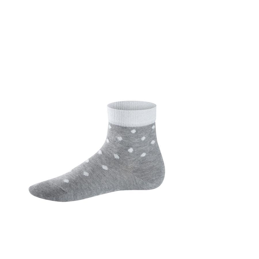FALKE Socke Glitter Dot light grey