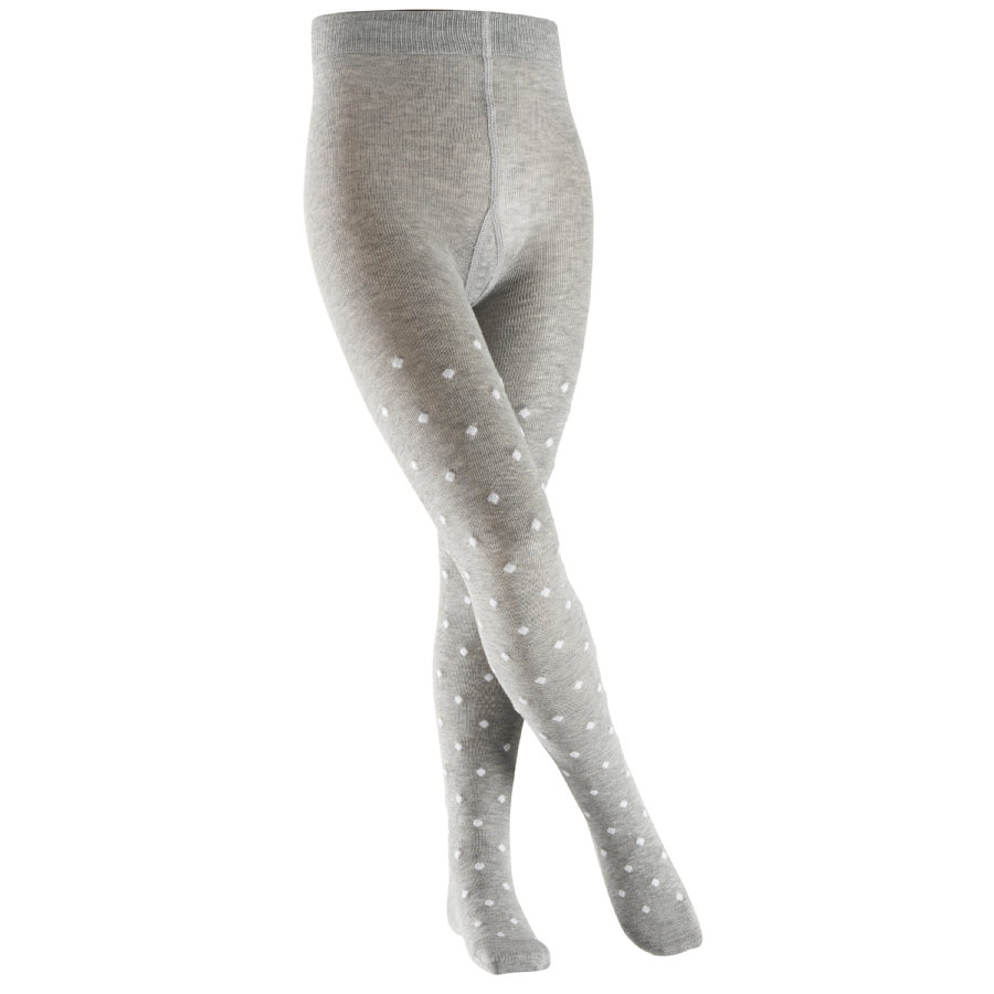 FALKE Mallas Glitter Dot TI gris claro