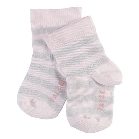 FALKE Socken Spark Stripe powder rose