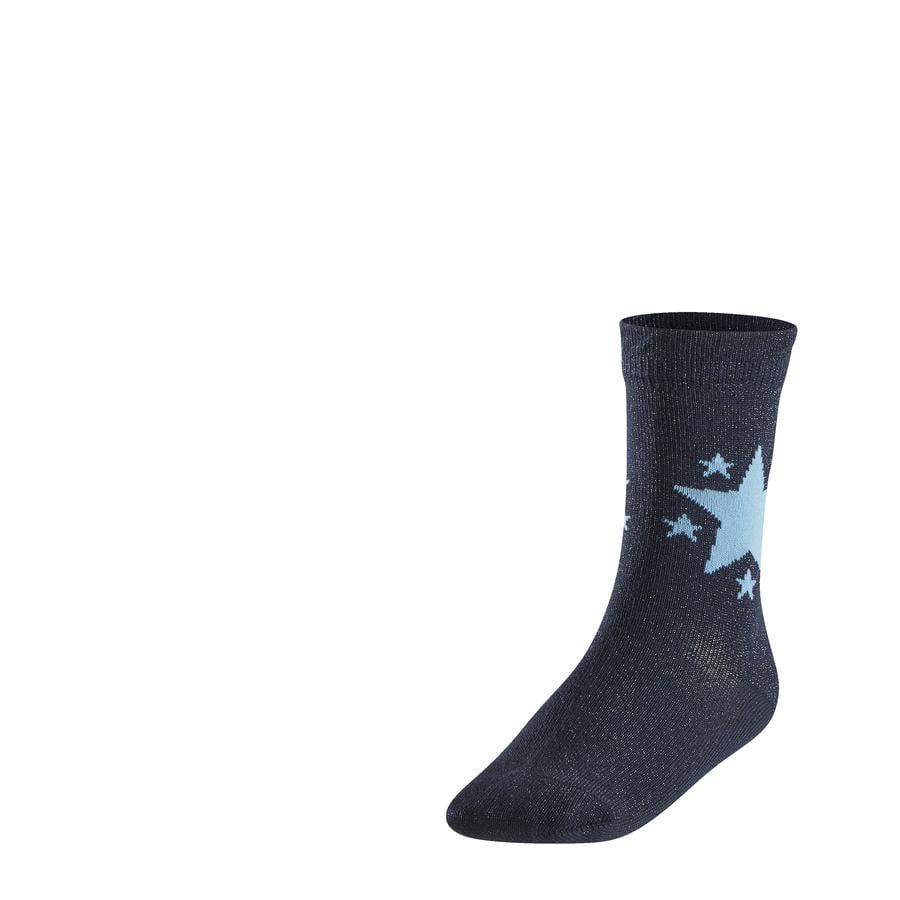 FALKE Skarpety Glitter Star marine