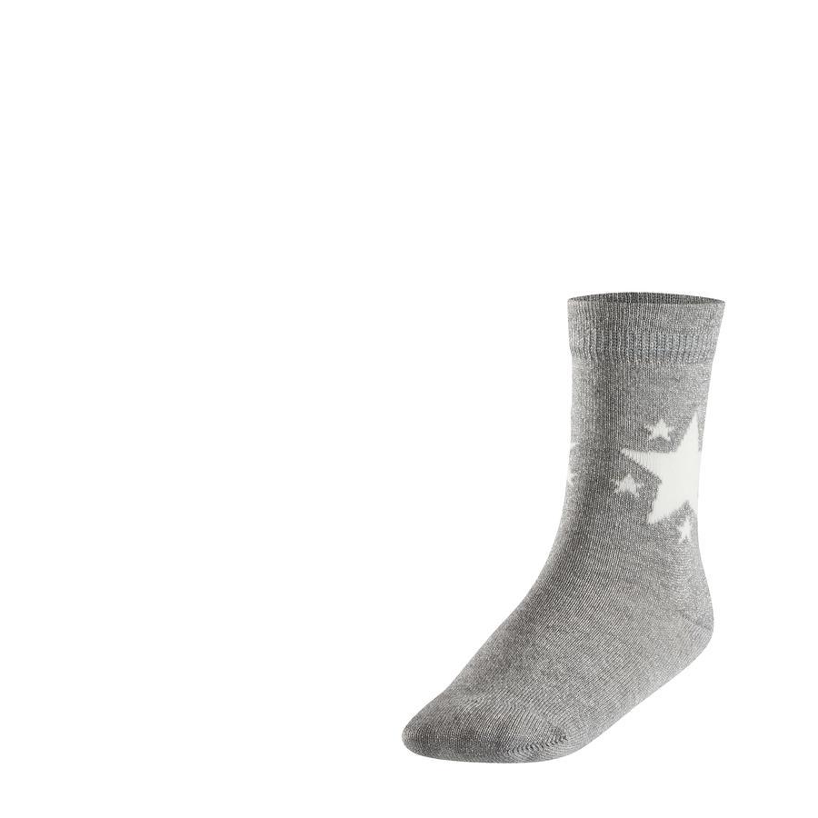 FALKE Socken Glitter Star light grey