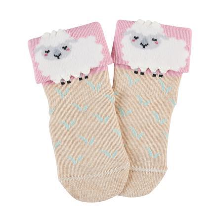 FALKE Sock Baby Sheep sand sand sandałowy dla niemowląt