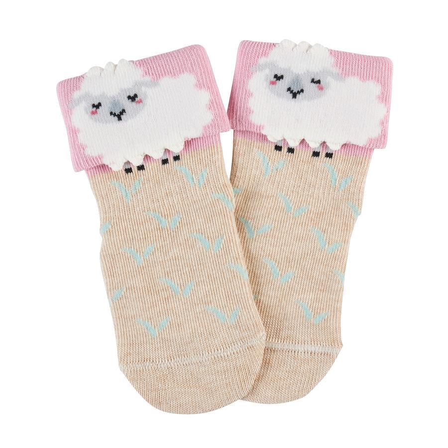 FALKE Socke Baby Sheep sand melange