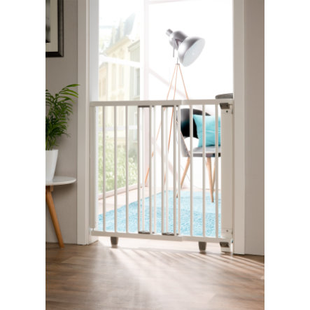 Geuther Barriera per porte Plus 2734+ 93,5 - 133 cm bianca