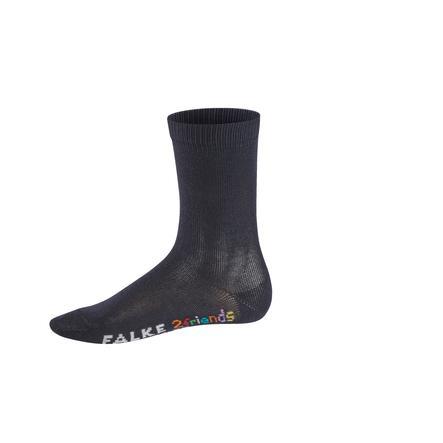FALKE Socke 2friends sortiment dark navy/navy blue melange