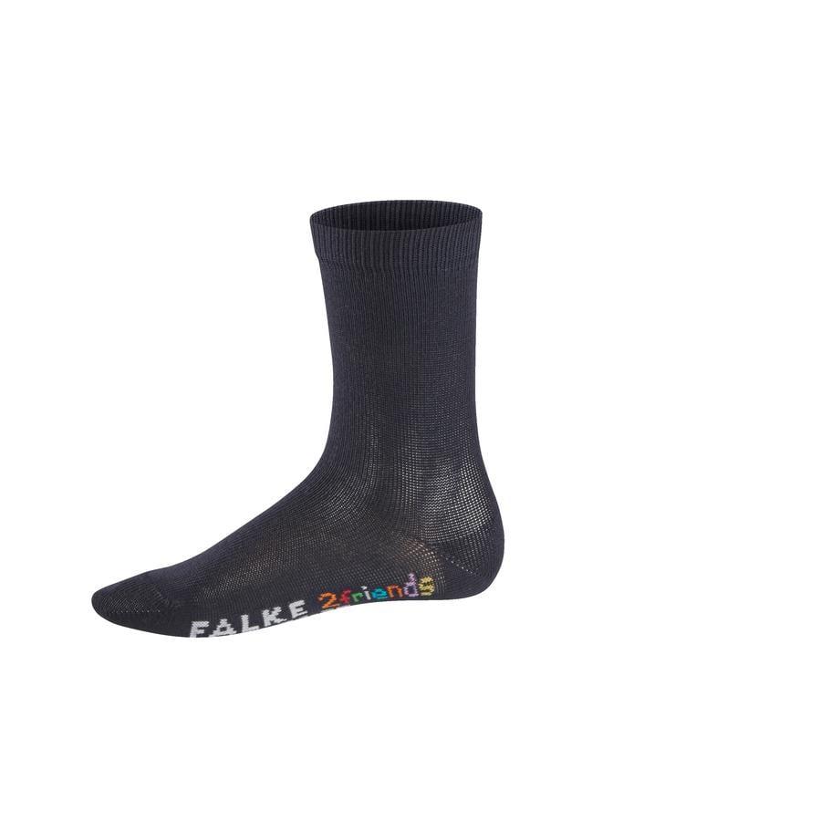 FALKE Sokken 2friends assortiment donker marine/zwaar blauw melange