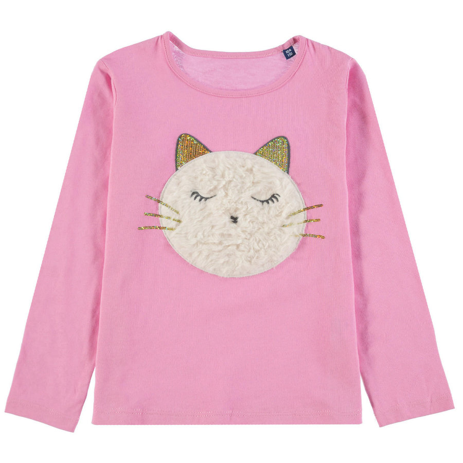 Chemise à manches longues TOM TAILOR Girl , rose