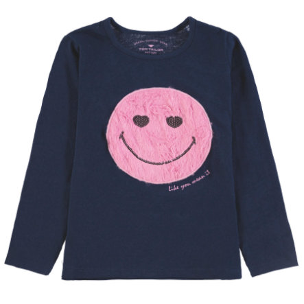 TOM TAILOR Girls T-Shirt, blau