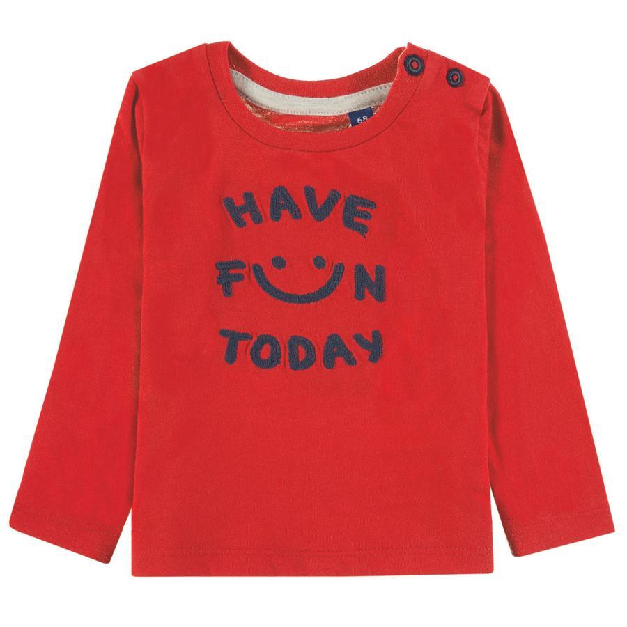 TOM TAILOR Poikien T-paita, punainen