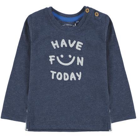 TOM TAILOR camisa manga Boys larga, azul