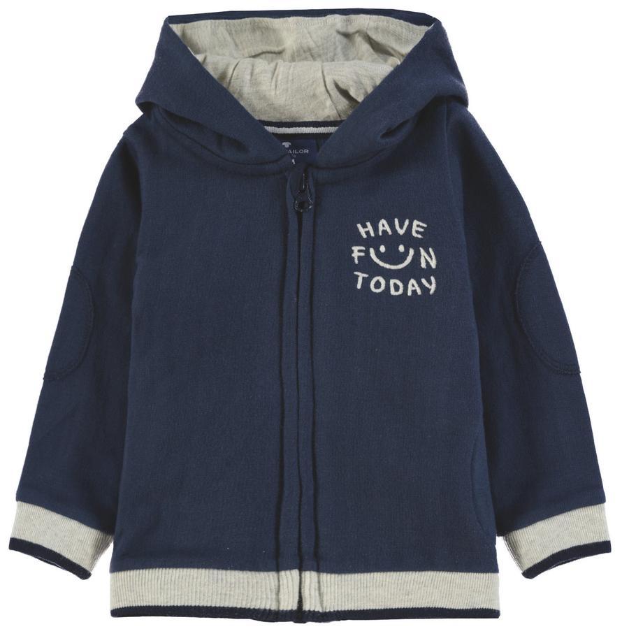 TOM TAILOR Sudadera de bebé con capucha, azul