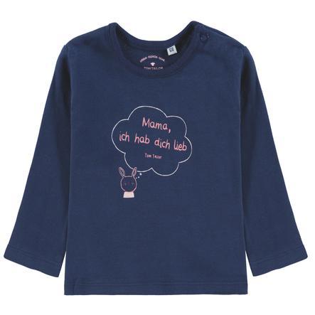TOM TAILOR Tyttöjen pitkähihainen paita, sininen