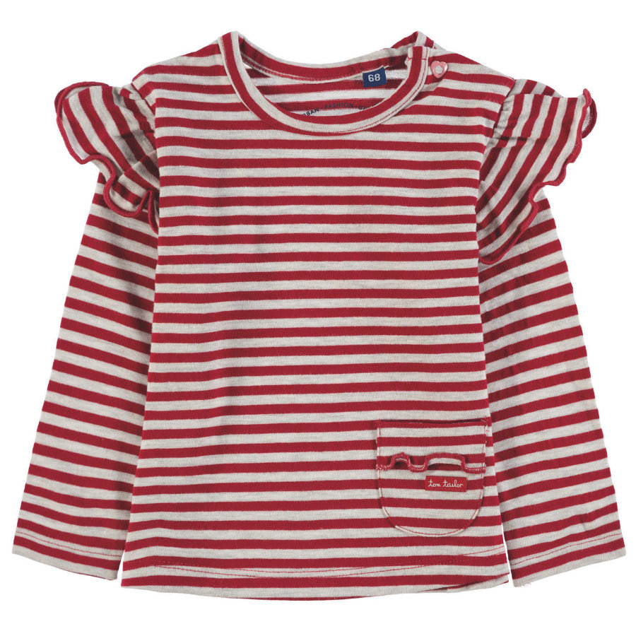TOM TAILOR Girl s T-Shirt , czerwony