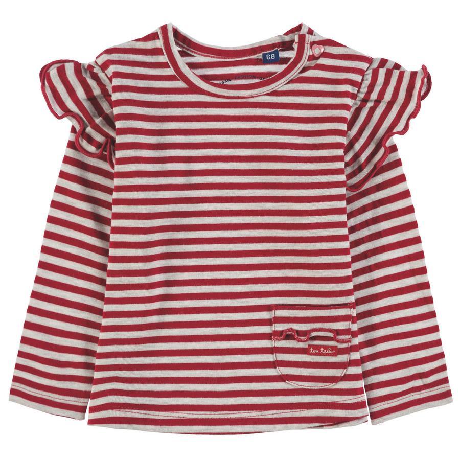 TOM TAILOR Girls T-Shirt, rot