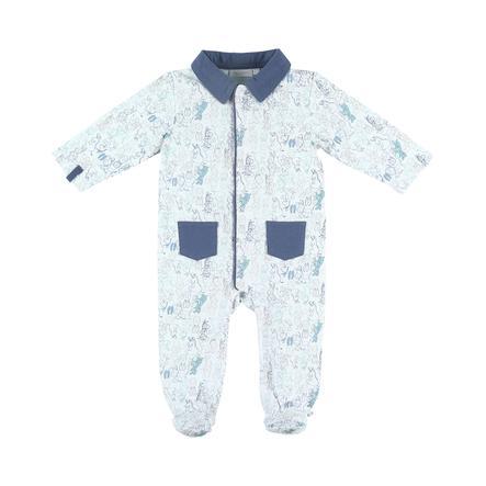 noukie's Pyjamas til drenge 1-delt Jersey Paco white