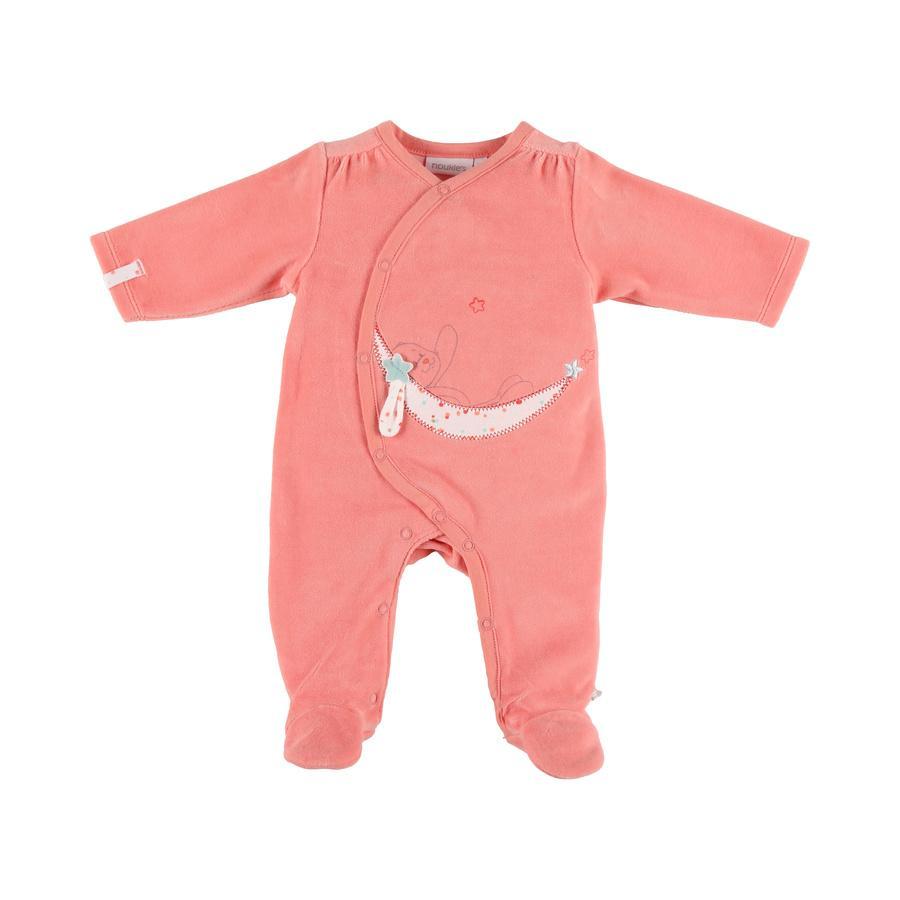 noukie Girl 's pyjama's 1-delig fluweel met 1 stuk