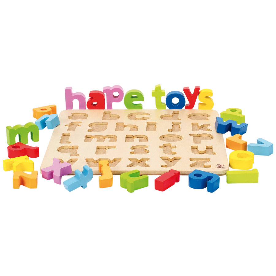 HAPE Alphabetpuzzle Kleinbuchstaben