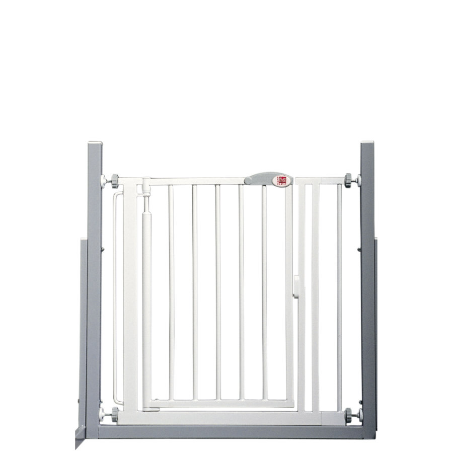RED CASTLE Barrière de porte/escalier Auto-close Advanced 75-82 cm, blanc