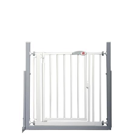 RED CASTLE Barrera de protección de la puerta/escalera Cierre automático Advanced, blanco 68,5-75 cm