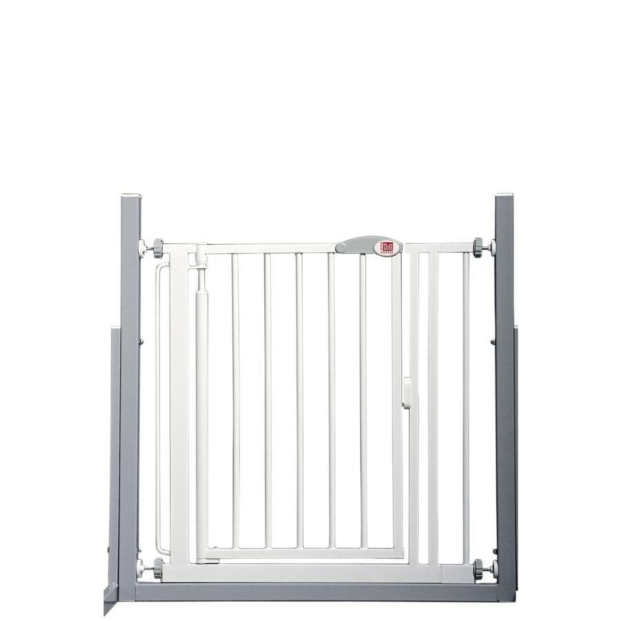 RED CASTLE Barrière de sécurité enfant porte/escaliers Auto-close Advanced, blanc 68,5-75 cm