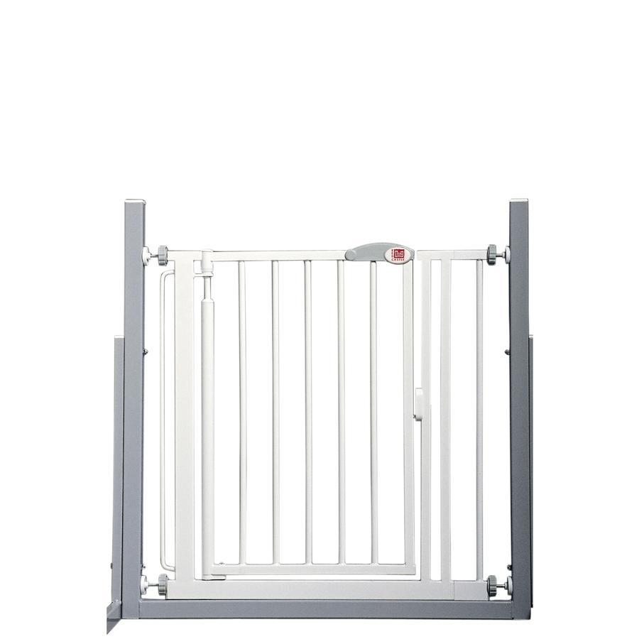 RED CASTLE Zábrana do dveří a na schodiště Auto-close Advanced, bílá 68,5-75 cm