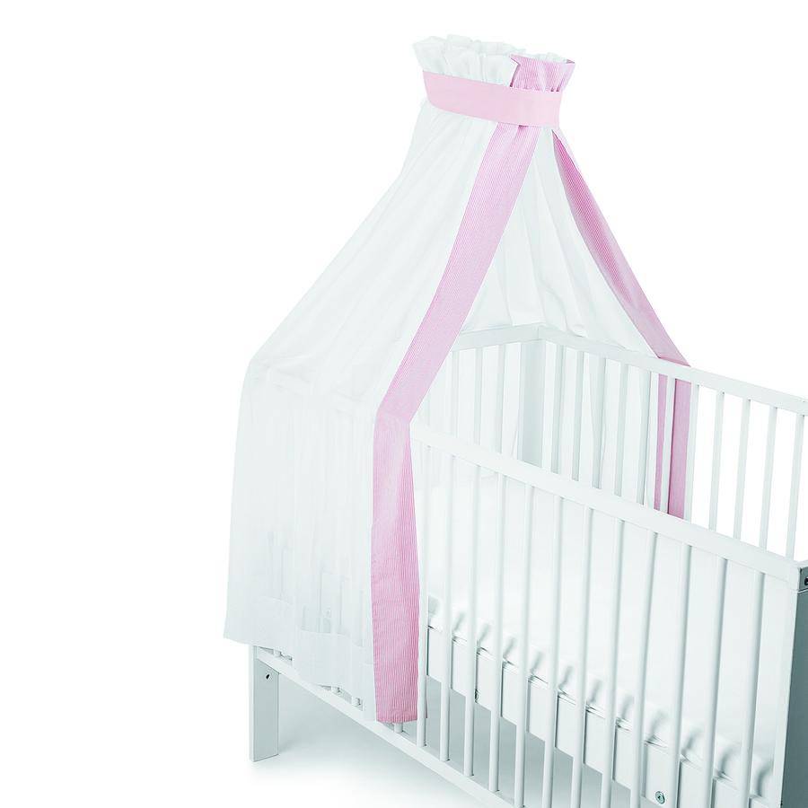 Sterntaler Bett-Himmel rosa