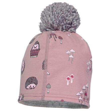 maximo Girls Beanie pindsvine/piggehest/svampe pink-hvid