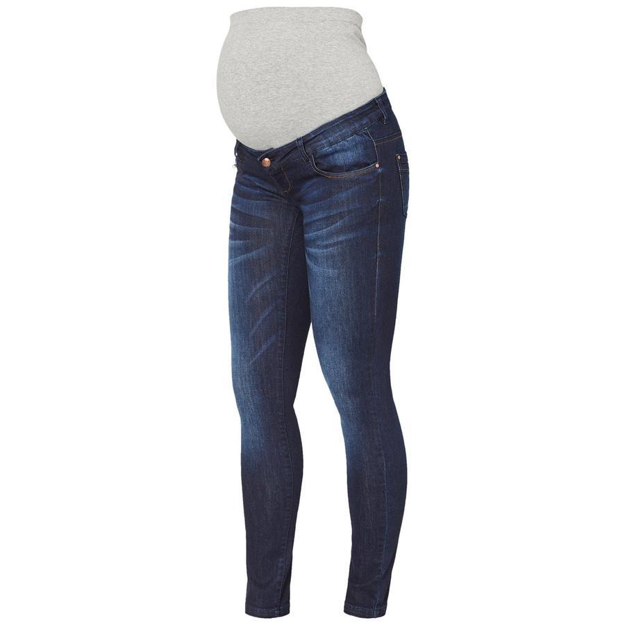 mama licious Jeans premaman MLRENO Dark Blue Denim