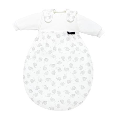Alvi Baby-Mäxchen® Sovepose  - Original 3 deler  - Sølv elefant