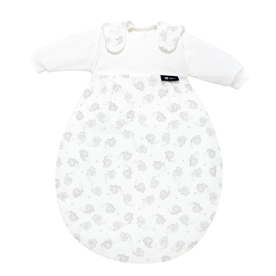 Alvi Śpiworek Baby-Mäxchen® - 3 częściowy - Słoniki srebrne