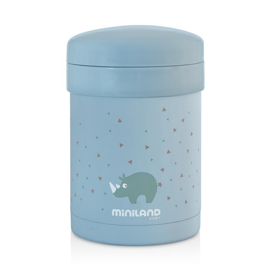 miniland Thermos repas bébé Thermetic turquoise 700 ml