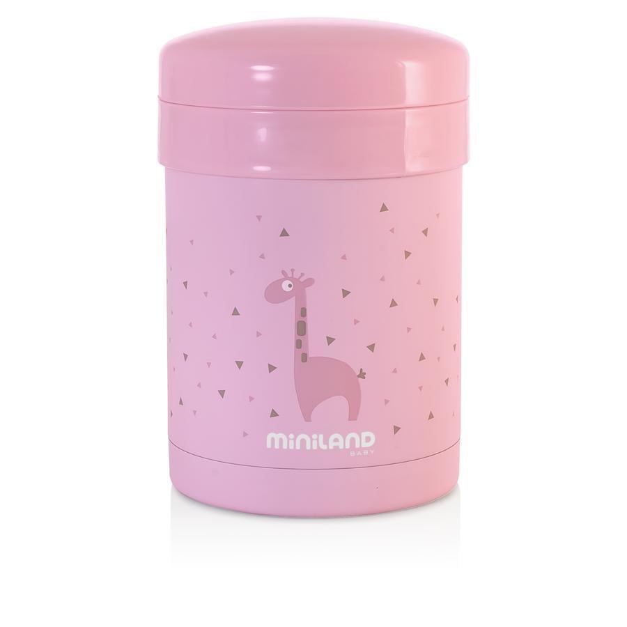 miniland thermetic Voedingsmiddelbakje pink 700 ml