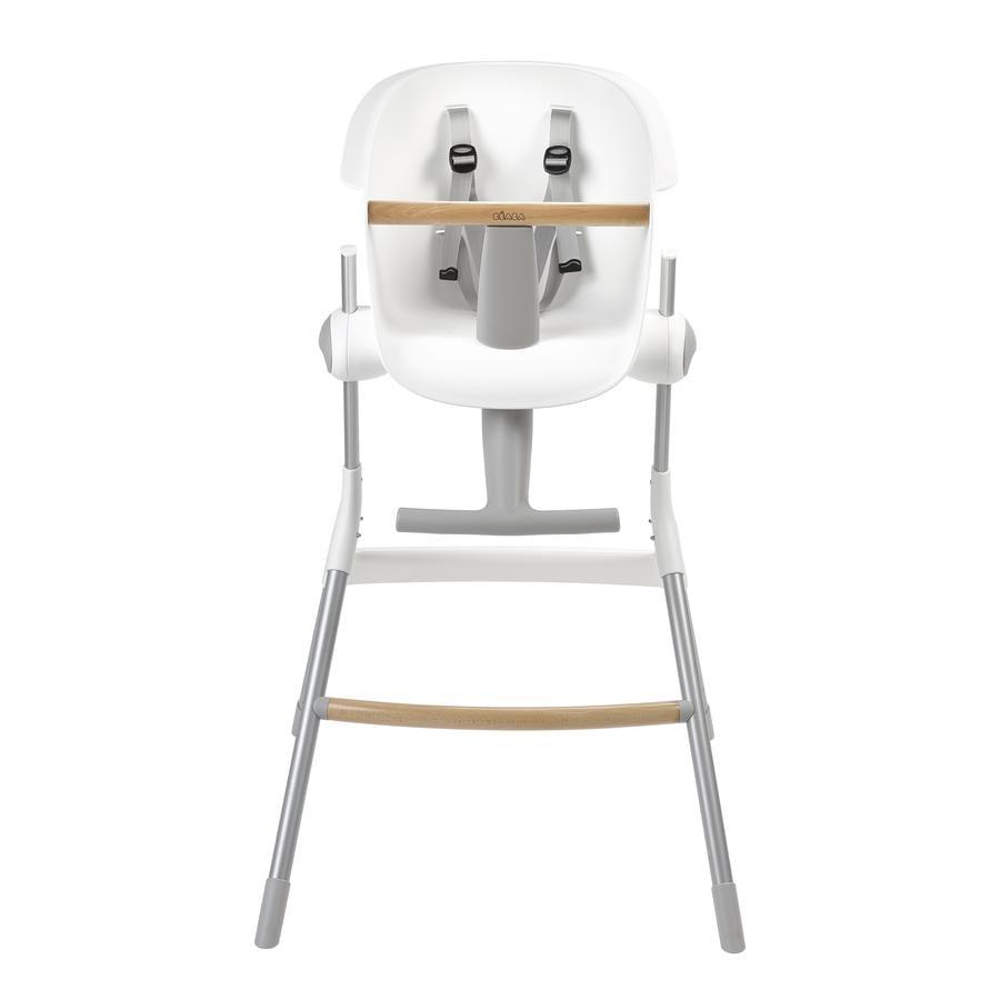 BEABA Chaise haute enfant Up & Down gris/blanc