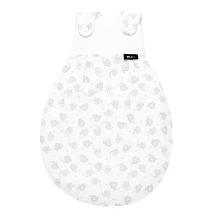 Alvi Baby Mäxchen® - das Original Außensack, Streifenfant silber