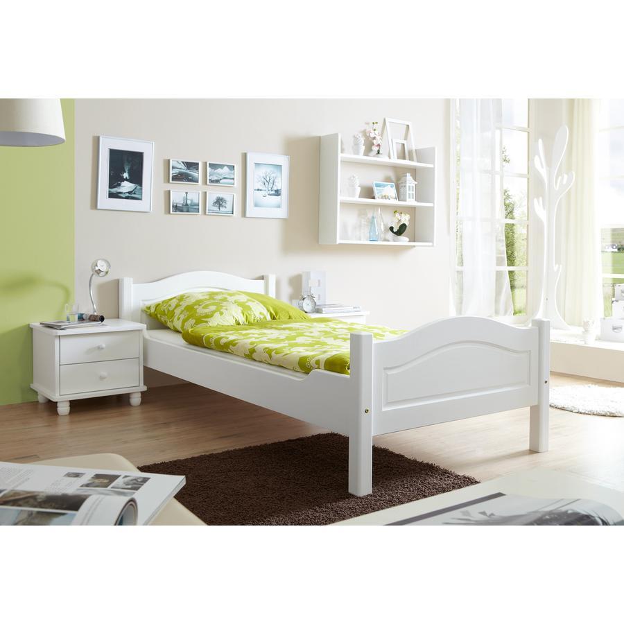 TiCAA Einzelbett Rita Weiß