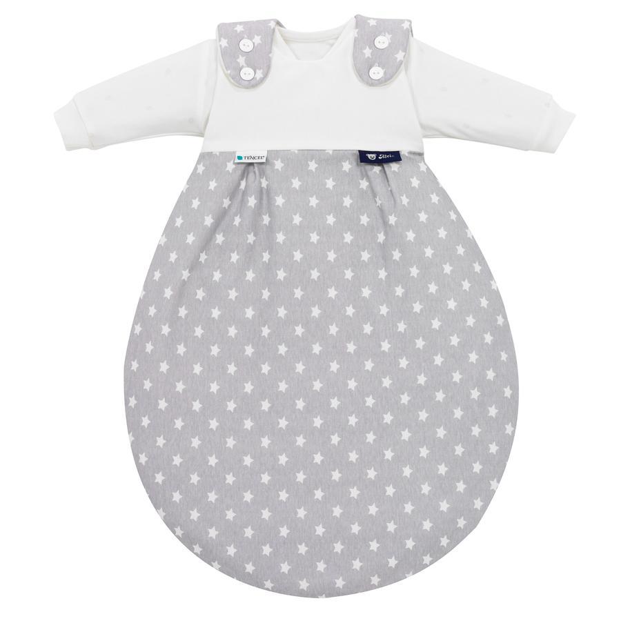 Alvi Baby-Mäxchen® sovepose 3 deler. - Tencel Edition - Stars sølv