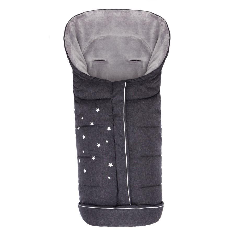 Fillikid Vinterkørepose Askja, Stor Stjerne, melange sort