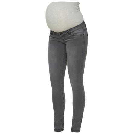 mama licious Jeans de maternité MLLOLA Denim gris