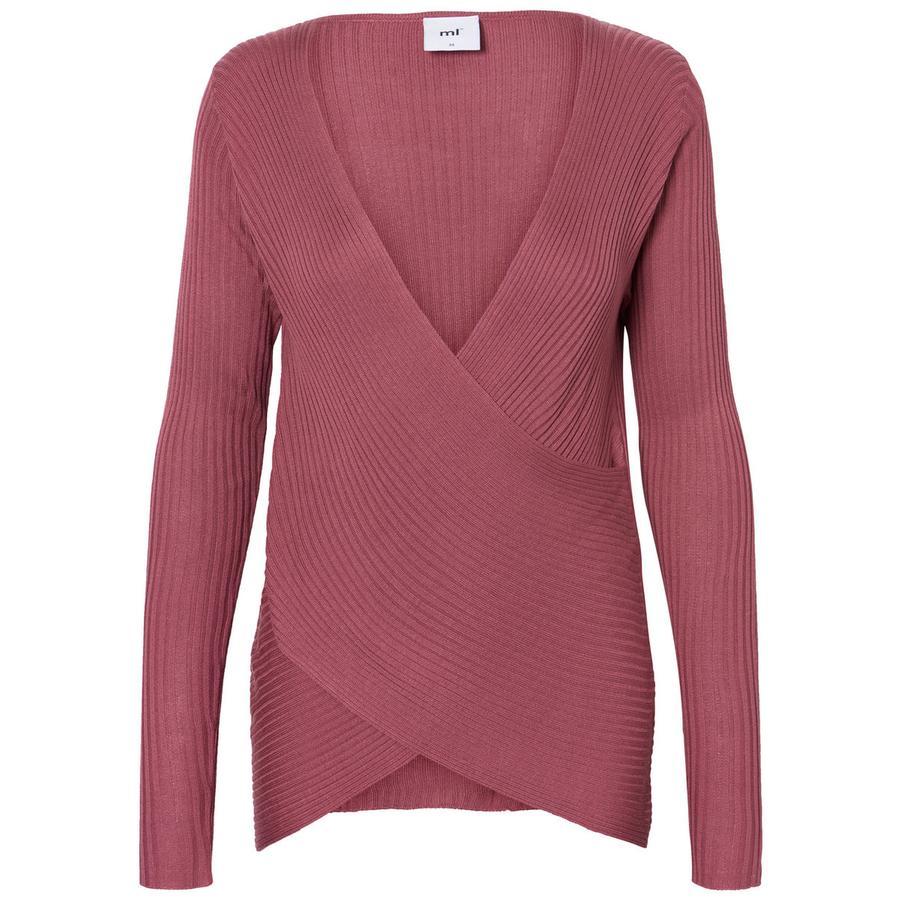 mama licious långärmad tröja MLINES Rose Melange