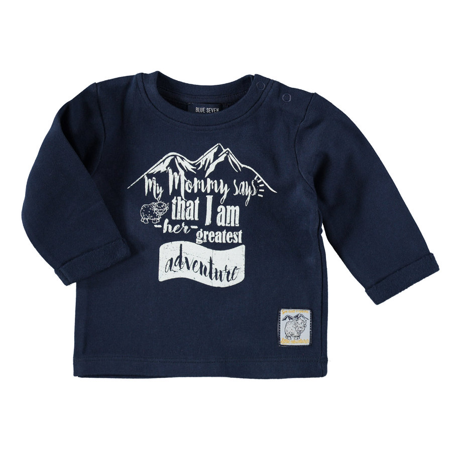 BLUE SEVEN Boys Sweatshirt dunkelblau
