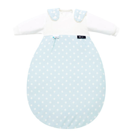 Alvi Baby-Mäxchen® 3tlg. - Edition Tencel - Stars aqua