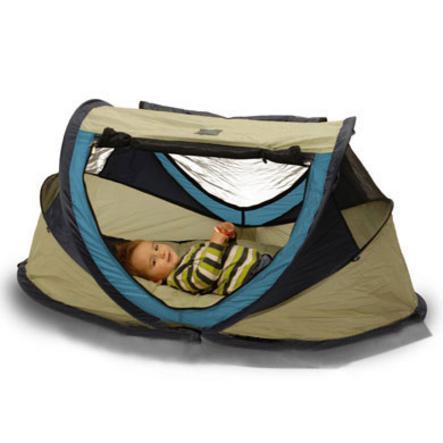 Deryan Reisbed/Tent Travel Cot Peuter khaki